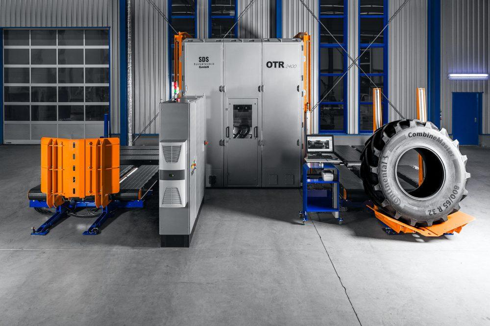 Off-the-Road Interferometric Tire Tester