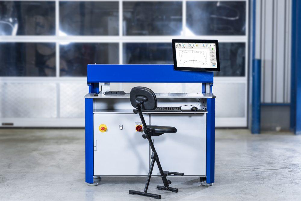 Laser profile measurement