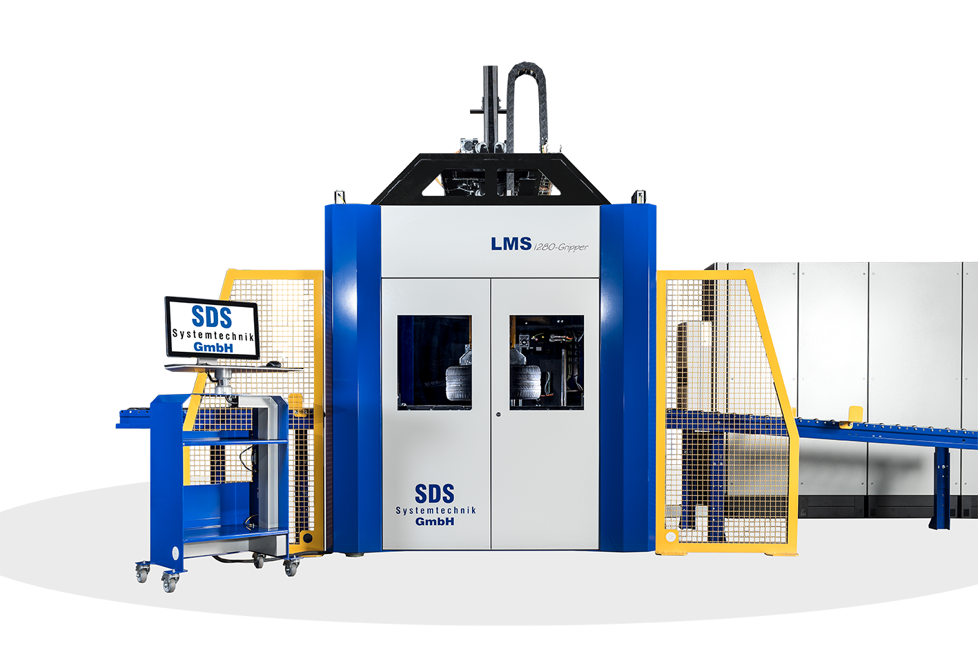 SDS Systemtechnik – LMS-Gripper (Laser Marking System)