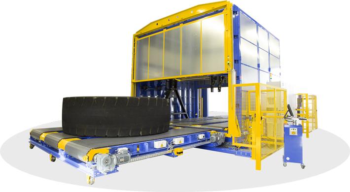 SDS Systemtechnik – OTR (Off-the-Road Interferometric Tire Tester)