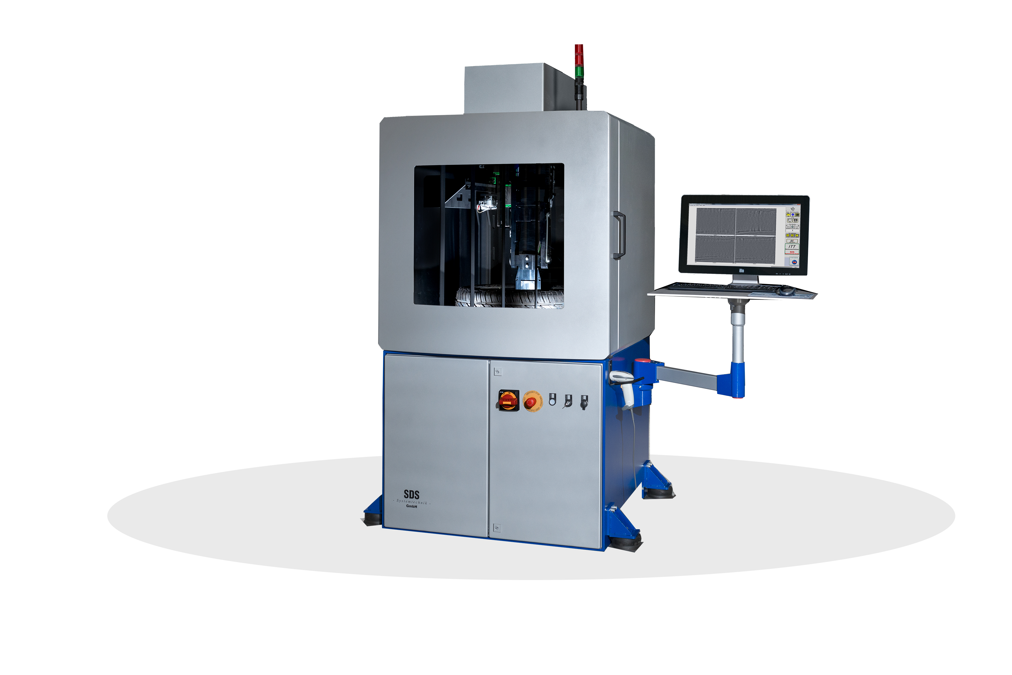 SDS Systemtechnik – ITT-Compact (Interferometric Tire Tester)